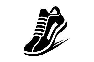 Running Shoe Icon