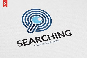 Searching Logo