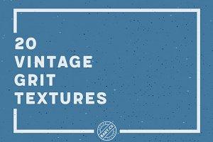 20 Vintage Grit Textures