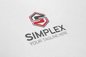 Simplex - S Letter Logo