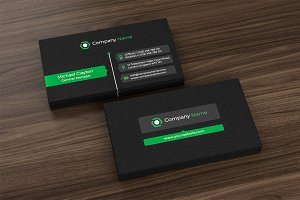 Corporate Business Card (3 Color)