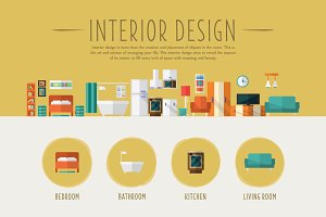 Interior Design Vector Illustration