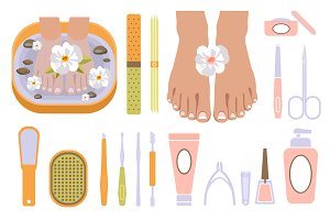 Spa Pedicure Set icon