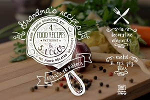 Grandma's Recipes Branding Kit
