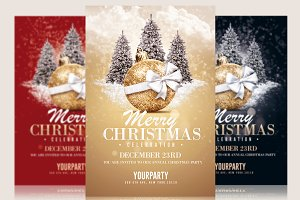 Christmas Invitation - Psd Templates