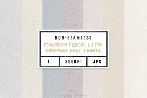Cardstock Lite Digital Papers