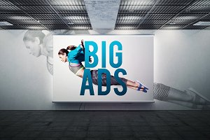 Advertising  Outdoor Mock-up