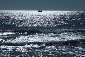 Sea like glass