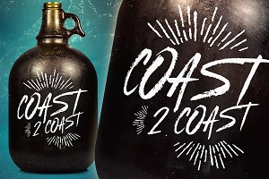 Coast 2 Coast - Typeface