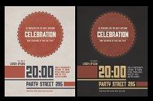 Celebration Flyer PSD template