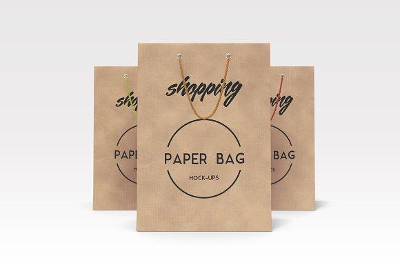 Free Shopping Bag Mockups