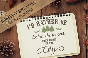 I'd Rather Be Lost In The Woods