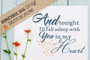 I'll Fall Asleep With You My Heart