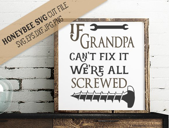 If Grandpa Cant Fix It We Re Screwed Illustrations