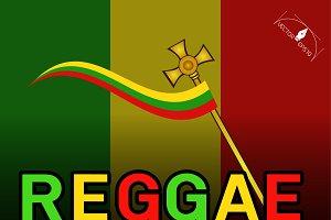 Reggae music festival Poster
