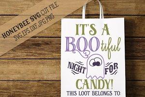 It's A Bootiful Night Loot Bag