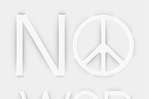 Peace and No war