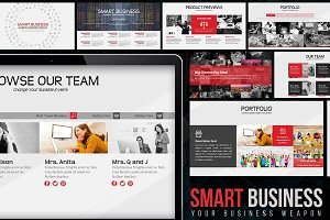 Smart Business PowerPoint Template