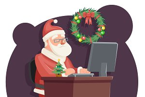 Office Santa Claus