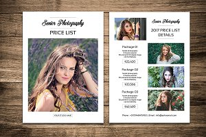 Senior Photography Price List-V457