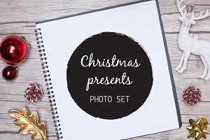 Christmas presents | Mock up photos