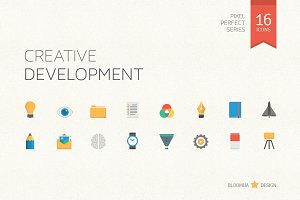 Creative Development Flat Icons