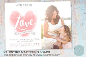 IV015 Valentine Marketing Board