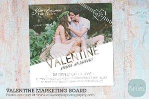 IV008 Valentine Marketing Board