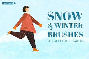 Snow & Winter Brushes