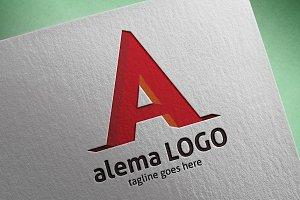 Alema (Letter A) Logo