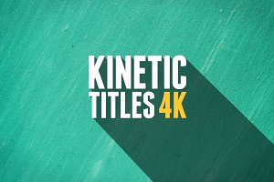 Kinetic Titles 4K