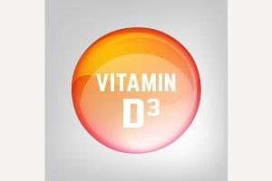 Vitamin D3 pill