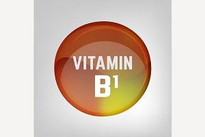 Vitamin B1 pill