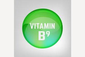 Vitamin B9 Pill