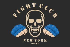 Emblems about fighting club