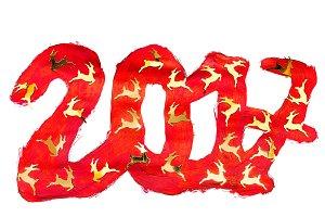 2017 year background