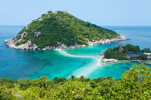 Landscape of beautiful ocean coast