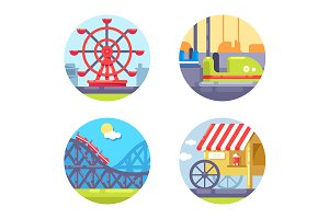Amusement park and recreation
