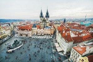 Staromestska Square in Prague