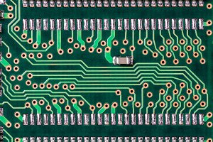 Detail of a printed circuit board 2