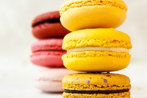 Double Stacked Macarons