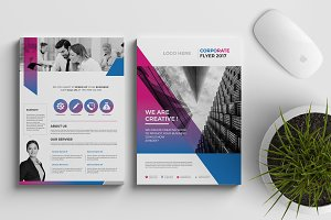 Corporate Flyer Template 16