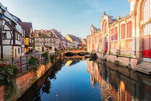 Colmar, beautiful town of Alsace, France