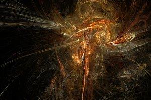 Calaxy nebula abstract background
