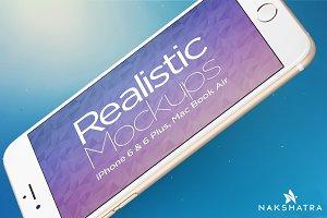 Realistic Mockups