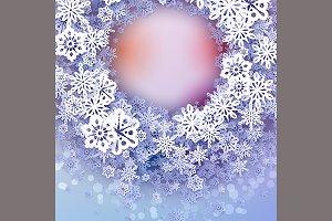 Round snow