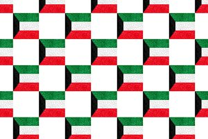 Kuwait Grunge Pattern