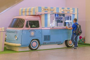 Food Truck at Rio de Janeiro Airport