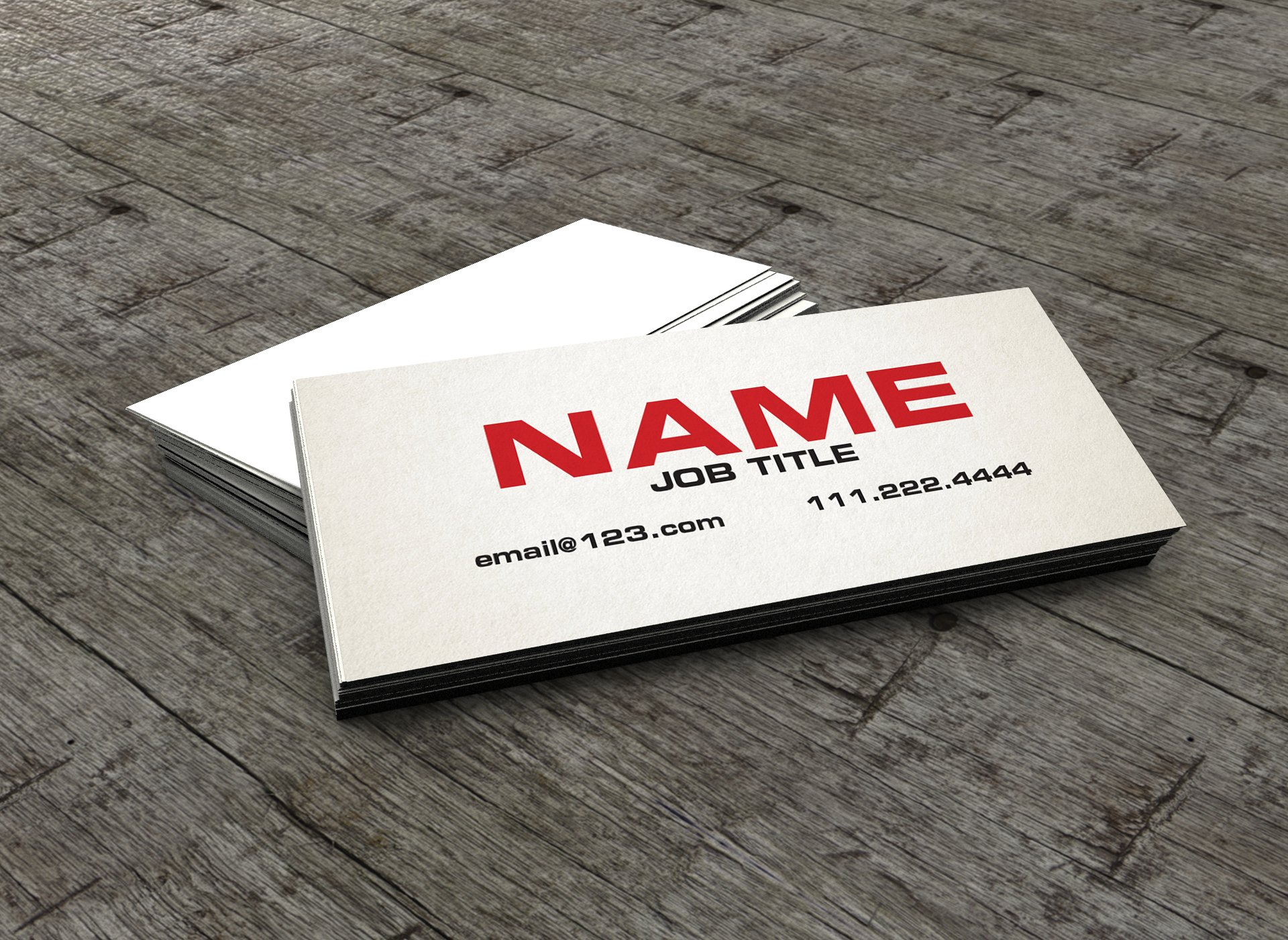 The Slim Business Card /Calling Card ~ Business Card Templates ...