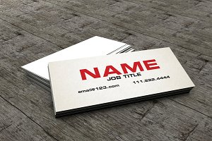 The Slim Business Card /Calling Card